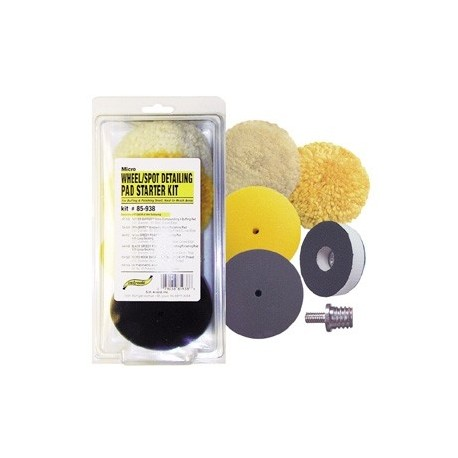 SM Arnold Wheel & Spot Detailing Polishing Kit