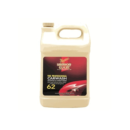 Meguiars M6201 Car Wash Shampoo & Conditioner Gallon